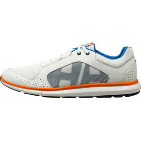 Helly Hansen Ahiga V3 Hydropower Zapatillas Hombre, off white/racer blue/blazer orange